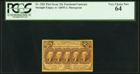Fr. 1281 25¢ First Issue PCGS Very Choice New 64