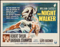 "Movie Posters:Horror, The Night Walker (Universal, 1964). Half Sheet (22"" X 28""). Horror.. ..."
