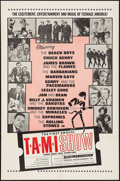 "Movie Posters:Rock and Roll, The T.A.M.I. Show (American International, 1964). One Sheet (27"" X41""). Rock and Roll.. ..."