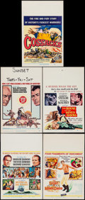 "Movie Posters:Adventure, Mutiny on the Bounty & Others Lot (MGM, 1962). Window Cards (5)(14"" X 22""). Adventure.. ... (Total: 5 Items)"