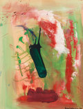 Post-War & Contemporary:Abstract Expressionism, Hans Hofmann (American, 1880-1966). Untitled, 1962. Gouacheand oil on paper laid on canvas. 23-3/4 x 18 inches (60.3 x ...