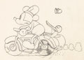 Animation Art:Production Drawing, The Dognapper Donald Duck Animation Drawing (Walt Disney,1934). ...