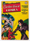 Golden Age (1938-1955):Superhero, Detective Comics #122 (DC, 1947) Condition: GD....