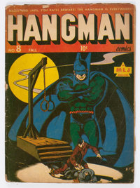 Hangman Comics #8 (MLJ, 1943) Condition: FR