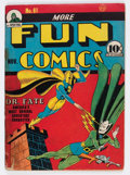 Golden Age (1938-1955):Superhero, More Fun Comics #61 (DC, 1940) Condition: GD....
