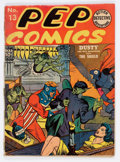 Golden Age (1938-1955):Superhero, Pep Comics #13 (MLJ, 1941) Condition: FR/GD....