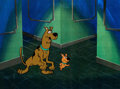 Animation Art:Production Cel, The 13 Ghosts of Scooby-Doo Scooby and Scrappy ProductionCel (Hanna-Barbera, c. 1985)....