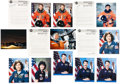 Autographs:Celebrities, Space Shuttle Astronaut Autograph Collection (Fifteen Items). ...(Total: 15 Items)