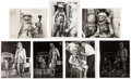 Explorers:Space Exploration, Mercury Astronauts: Rare Early NASA and Navy Silver SpacesuitPhotos Collection (Seven). ... (Total: 7 Items)