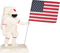 "Explorers:Space Exploration, Apollo 11 Twenty-Fifth Anniversary Limited Edition, #905/5000, ""ManOn The Moon"" Porcelain Statue by the United States Histori..."