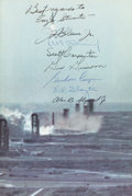 Explorers:Space Exploration, Mercury Seven Astronauts Signed Book (By All): We Seven byThe Astronauts Themselves.... (Total: 2 Items)