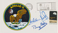 "Explorers:Space Exploration, Apollo 11 Crew-Signed ""Type Three"" Insurance Cover with MissionInsignia Cachet...."