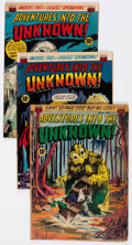 Golden Age (1938-1955):Horror, Adventures Into The Unknown #24 and 38-40 Group (ACG, 1951-53)....(Total: 4 Comic Books)