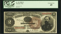Large Size:Treasury Notes, Fr. 354 $2 1890 Treasury Note PCGS Extremely Fine 45.. ...