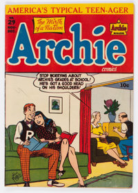 Archie Comics #29 (Archie, 1947) Condition: FN-