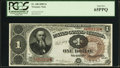 Fr. 348 $1 1890 Treasury Note PCGS Gem New 65PPQ