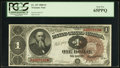 Fr. 347 $1 1890 Treasury Note PCGS Gem New 65PPQ