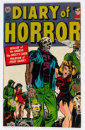 Golden Age (1938-1955):Horror, Diary of Horror #1 (Avon, 1952) Condition: VG/FN....