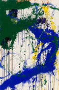 Post-War & Contemporary:Abstract Expressionism, Norman Bluhm (1921-1999). Untitled, 1964. Acrylic on paper.40-3/8 x 26-1/2 inches (102.6 x 67.3 cm) (sheet). Signed and...