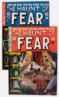Haunt of Fear #15 and 16 Group (EC, 1952-53) Condition: Average VG+.... (Total: 2 Comic Books)