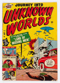 Golden Age (1938-1955):Horror, Journey Into Unknown Worlds #38 (#3) (Atlas, 1951) Condition: VG....