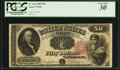 Large Size:Legal Tender Notes, Fr. 162 $50 1880 Legal Tender PCGS Very Fine 30.. ...