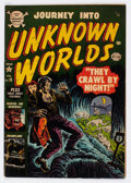 Golden Age (1938-1955):Horror, Journey Into Unknown Worlds #15 (Atlas, 1953) Condition: VG+....