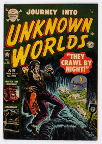 Journey Into Unknown Worlds #15 (Atlas, 1953) Condition: VG+