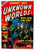 Golden Age (1938-1955):Horror, Journey Into Unknown Worlds #18 (Atlas, 1953) Condition: FN....