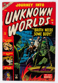 Journey Into Unknown Worlds #18 (Atlas, 1953) Condition: FN