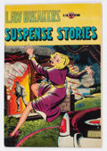 Golden Age (1938-1955):Crime, Lawbreakers Suspense Stories #10 (#1) (Capitol Stories/ Charlton, 1953) Condition: FN+....