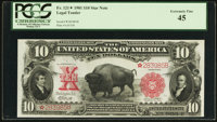 Fr. 121* $10 1901 Mule Legal Tender PCGS Extremely Fine 45