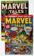 Golden Age (1938-1955):Horror, Marvel Tales #103 and 104 Group (Atlas, 1951) Condition: AverageGD/VG.... (Total: 2 Comic Books)