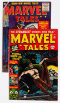 Golden Age (1938-1955):Horror, Marvel Tales Group #111 and 144 (Atlas, 1953-56).... (Total: 2Comic Books)