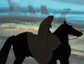 Animation Art:Production Cel, The Lord of the Rings Dark Rider Production Cel (RalphBakshi, 1978)....