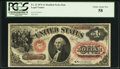 Large Size:Legal Tender Notes, Fr. 22 $1 1875 Legal Tender PCGS Choice About New 58.. ...