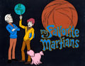 Animation Art:Presentation Cel, My Favorite Martians Publicity Cel (Filmation, 1973)...