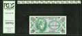 Military Payment Certificates:Series 641, Series 641 10¢ Third Printing PCGS Superb Gem New 69PPQ.. ...