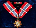Explorers:Space Exploration, Wally Schirra's 1966 Philippine Legion of Honor (Commander) Medalin Presentation Case with Plaque Originally from His Persona...(Total: 2 Items)