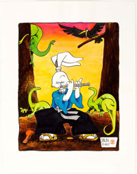 Stan Sakai - Usagi Yojimbo Original Art (1987)