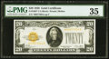 Small Size:Gold Certificates, Fr. 2402* $20 1928 Gold Certificate Star. PMG Choice Very Fine 35.. ...