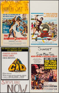 "Movie Posters:Adventure, El Cid & Others Lot (Allied Artists, 1961). Window Cards (6)(14"" X 22""). Adventure.. ... (Total: 6 Items)"