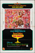 "Movie Posters:Comedy, The Party (United Artists, 1968). One Sheet (27"" X 41""). Style B. Comedy.. ..."