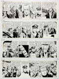 George Wunder Terry and the Pirates Daily Comic Strip Original Art Group of 4 Co Comic Art