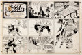 Original Comic Art:Comic Strip Art, Warren Tufts Casey Ruggles Sunday Comic Strip Original Artdated 4-23-50 (United Feature Syndicate, 1950)....