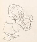 Animation Art:Production Drawing, Donald's Golf Game Production Drawing Animation Art (WaltDisney, 1938)....