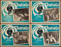 """Movie Posters:Mystery, Charade (Universal, 1964). Mexican Lobby Cards (4) (12.75"""" X 16.5""""). Mystery.. ... (Total: 4 Items)"""