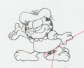 Animation Art:Production Drawing, Garfield and Friends Animation Drawings Group of 3 (FilmRoman, 1988-94).... (Total: 3 Original Art)
