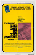 "Movie Posters:Thriller, The Day of the Jackal (Universal, 1973). One Sheet (27"" X 41""). Thriller.. ..."