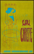 "Movie Posters:Rock and Roll, Lou Christie Concert (Hydrogen People, 1967). Window Card (14"" X22""). Rock and Roll.. ..."